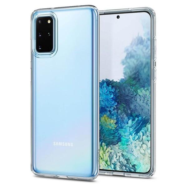 Прозрачный защитный чехол для Samsung Galaxy S20+ Spigen Crystal Flex