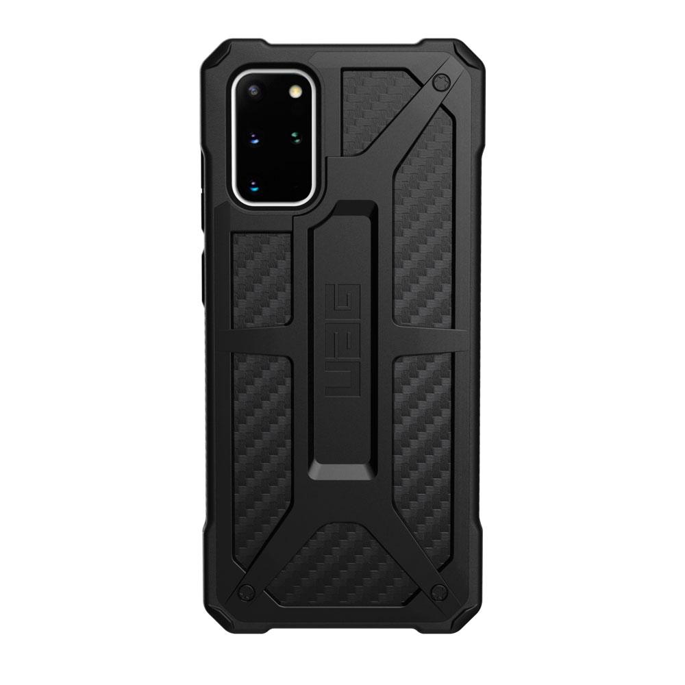 Купить Противоударный чехол для Samsung Galaxy S20+ UAG Monarch Series Carbon Fiber