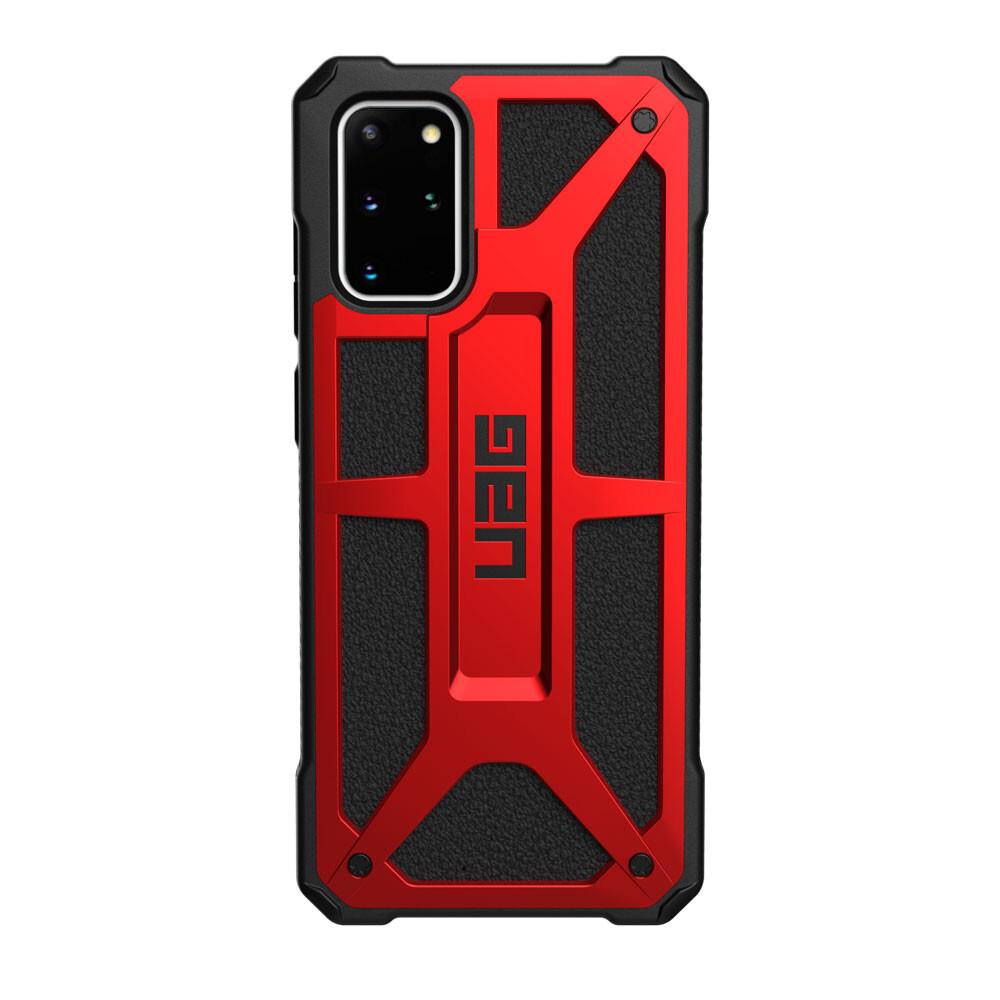 Противоударный чехол для Samsung Galaxy S20+ UAG Monarch Series Crimson