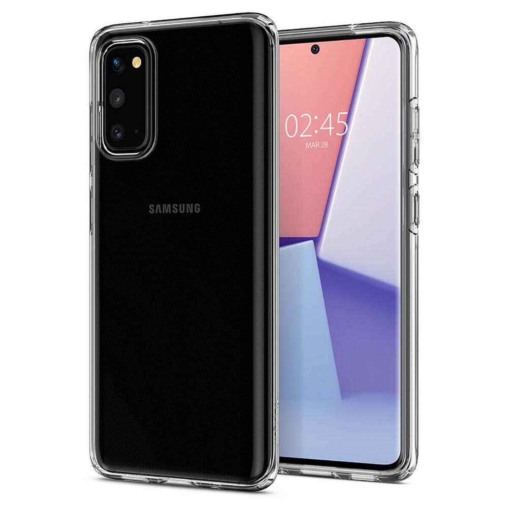 Купить Прозрачный защитный чехол для Samsung Galaxy S20 Spigen Crystal Flex