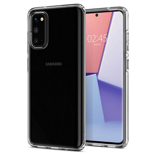 Прозрачный защитный чехол для Samsung Galaxy S20 Spigen Crystal Flex