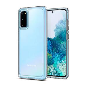Купить Чехол для Samsung Galaxy S20 Spigen Ultra Hybrid Crystal Clear
