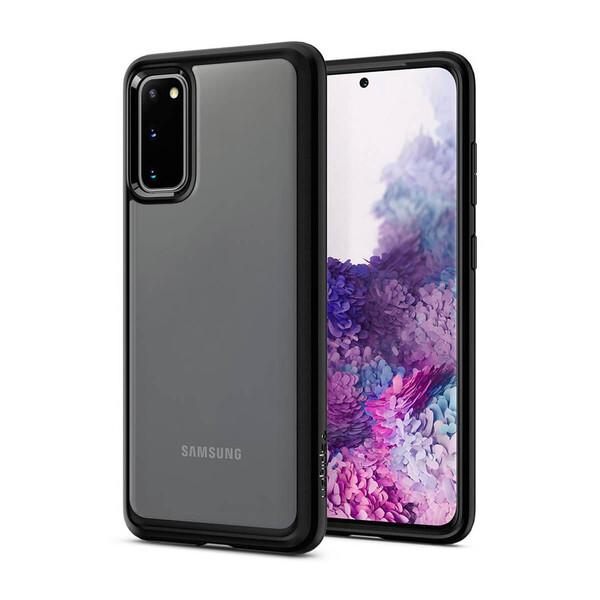 Чехол для Samsung Galaxy S20 Spigen Ultra Hybrid Matte Black