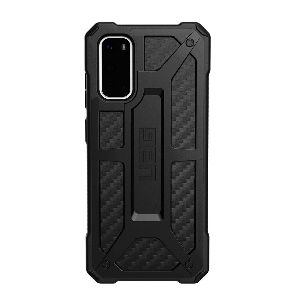 Купить Противоударный чехол для Samsung Galaxy S20 UAG Monarch Series Carbon Fiber