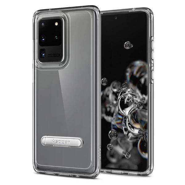 Защитный чехол-подставка Spigen для Samsung Galaxy S20 Ultra Case Ultra Hybrid S