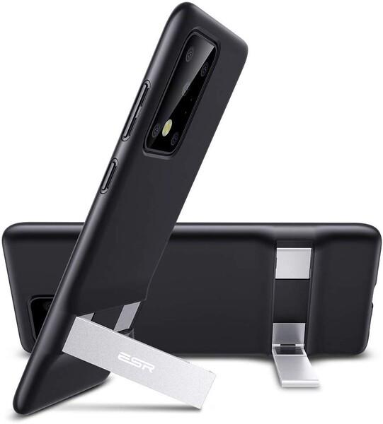 Силиконовый чехол ESR Air Shield Boost Black для Samsung Galaxy S20 Ultra