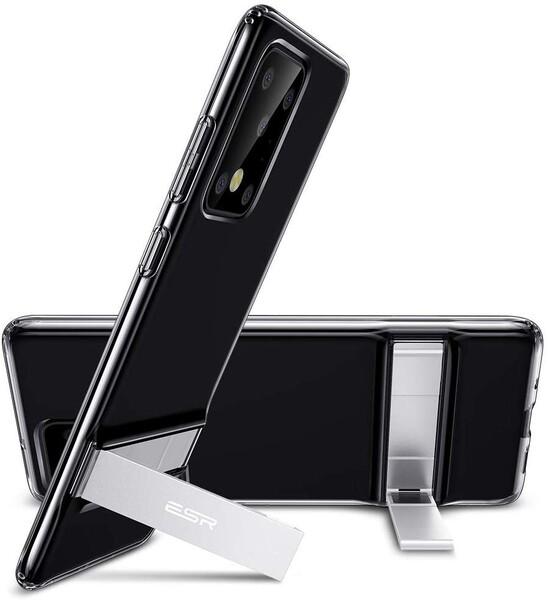 Силиконовый чехол ESR Air Shield Boost Clear Black для Samsung Galaxy S20 Ultra