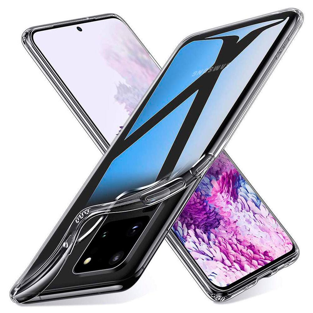 Прозрачный силиконовый чехол ESR Essential Zero Clear для Samsung Galaxy S20 Ultra