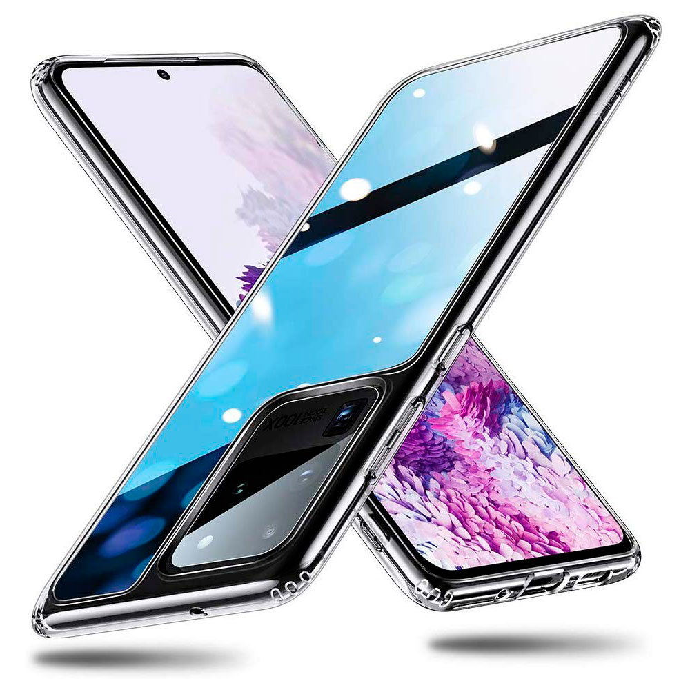 Купить Чехол ESR Mimic Tempered-Glass Case Clear для Samsung Galaxy S20 Ultra