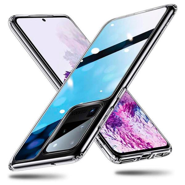 Чехол ESR Mimic Tempered-Glass Case Clear для Samsung Galaxy S20 Ultra
