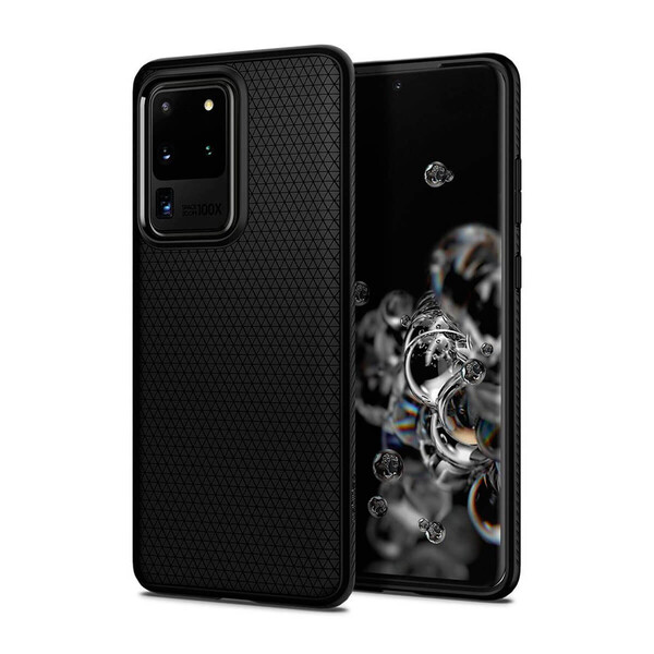 Чехол для Samsung Galaxy S20 Ultra Spigen Liquid Air Matte Black