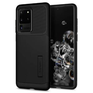 Купить Черный защитный чехол для Samsung Galaxy S20 Ultra Spigen Slim Armor Black