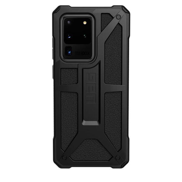 Противоударный чехол для Samsung Galaxy S20 Ultra UAG Monarch Series Black