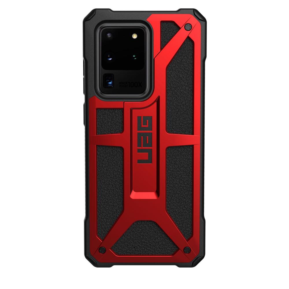 Противоударный чехол для Samsung Galaxy S20 Ultra UAG Monarch Series Crimson