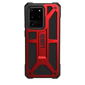Купить Противоударный чехол для Samsung Galaxy S20 Ultra UAG Monarch Series Crimson