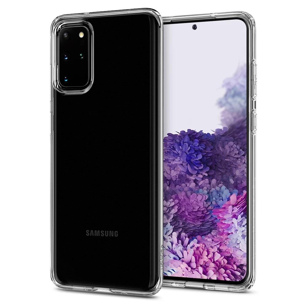 Купить Чехол для Samsung Galaxy S20+ Spigen Liquid Crystal Case Clear