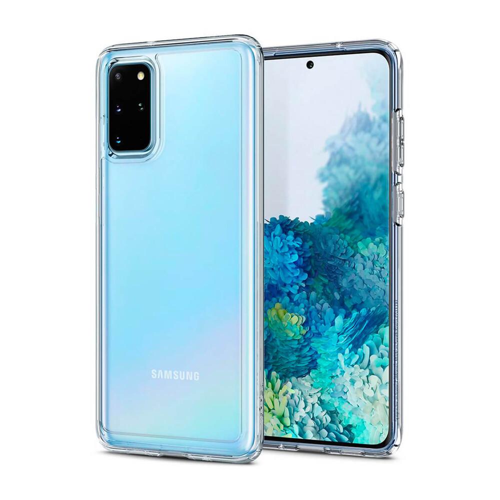 Купить Чехол для Samsung Galaxy S20+ Spigen Ultra Hybrid Crystal Clear
