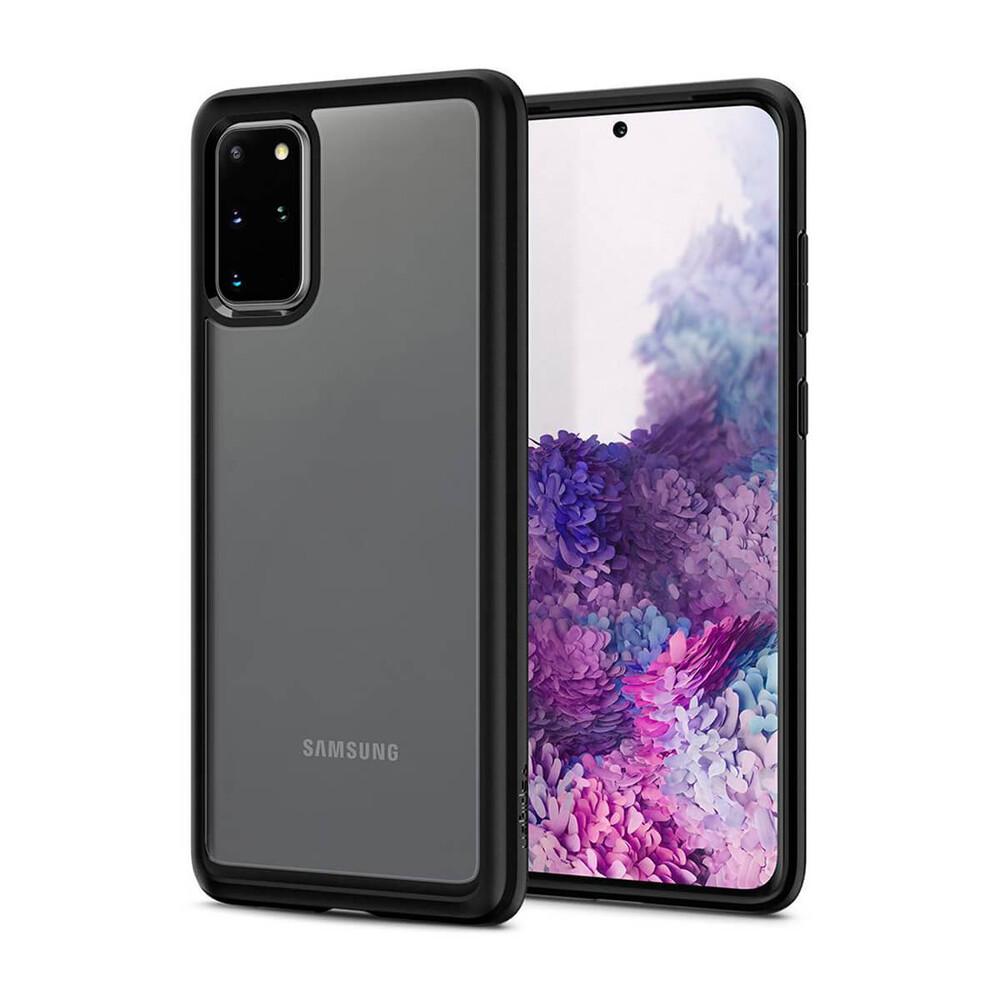 Купить Чехол для Samsung Galaxy S20+ Spigen Ultra Hybrid Matte Black