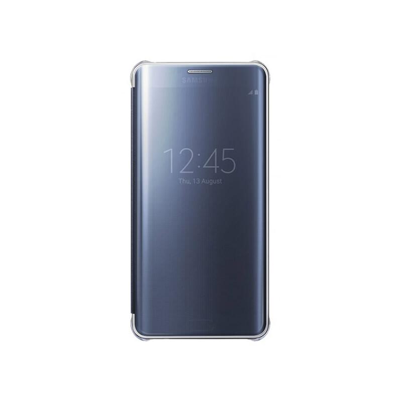 Чехол Samsung Clear View Cover Black для Samsung Galaxy S6 Edge+ (EF-ZG928CBEGRU)