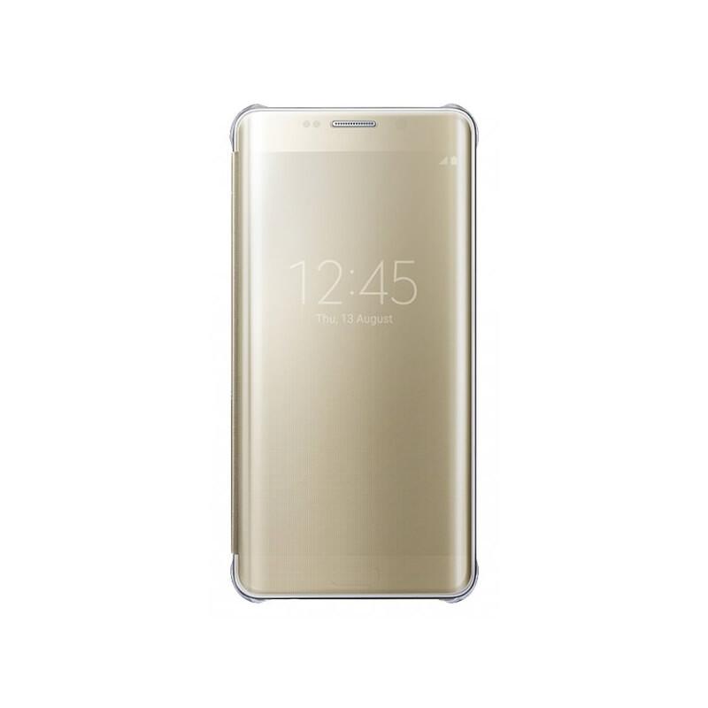 Чехол Samsung Clear View Cover Gold для Samsung Galaxy S6 Edge+ (EF-ZG928CFEGRU)
