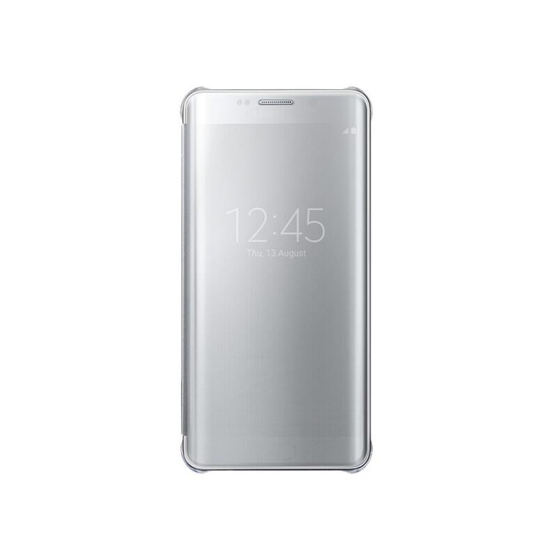 Чехол Samsung Clear View Cover Silver для Samsung Galaxy S6 Edge+ (EF-ZG928CSEGRU)