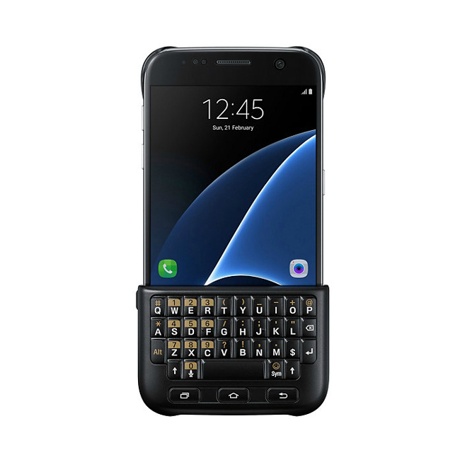 Чехол Samsung Keyboard Cover Black для Samsung Galaxy S7