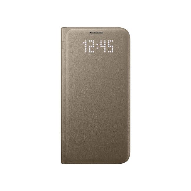 Чехол Samsung LED View Cover Gold для Samsung Galaxy S7