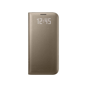 Купить Чехол Samsung LED View Cover Gold для Samsung Galaxy S7 edge