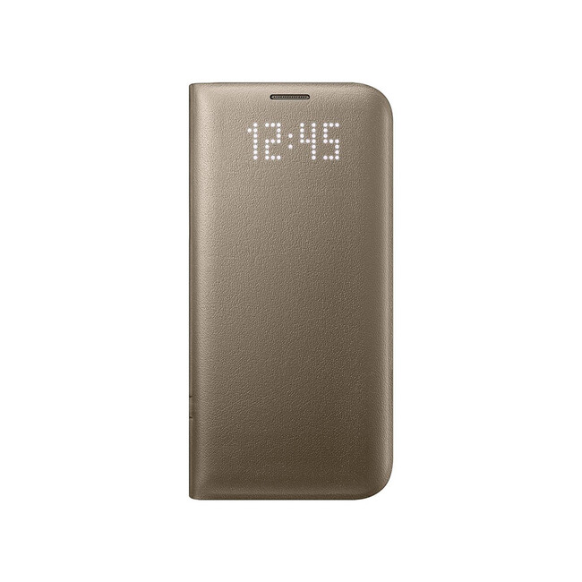 Чехол Samsung LED View Cover Gold для Samsung Galaxy S7 edge