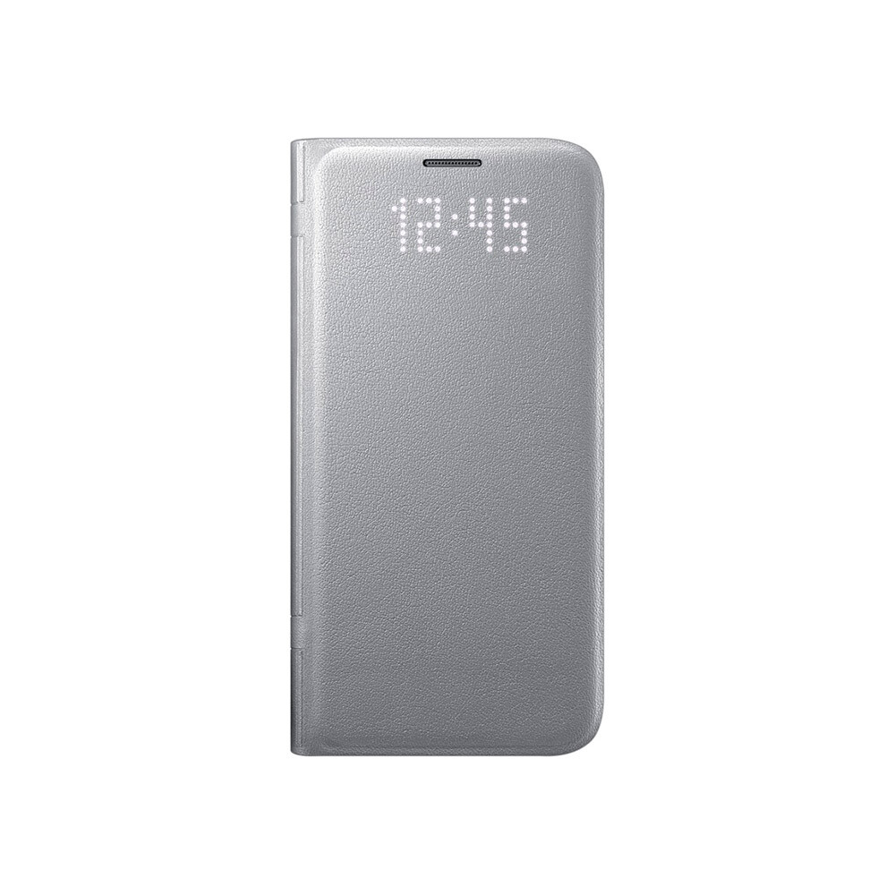 Чехол Samsung LED View Cover Silver для Samsung Galaxy S7