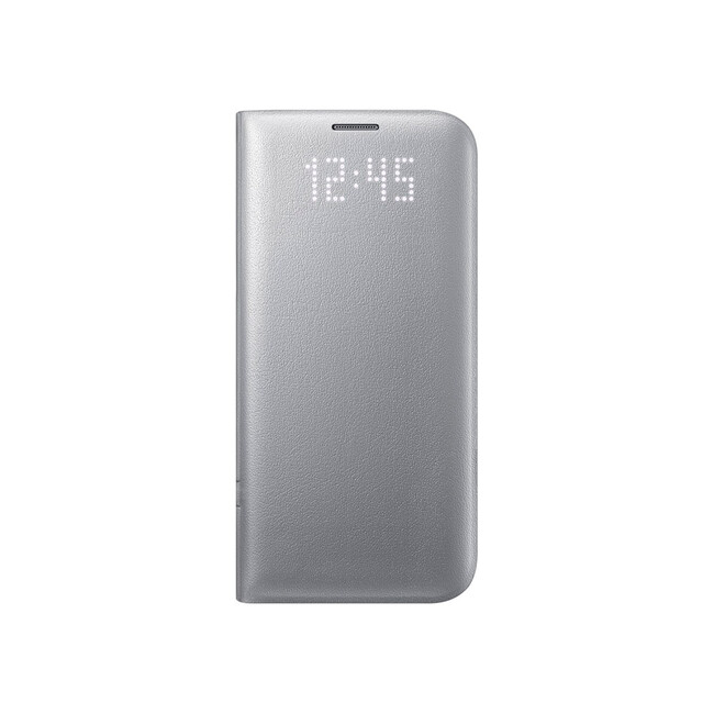 Чехол Samsung LED View Cover Silver для Samsung Galaxy S7 edge