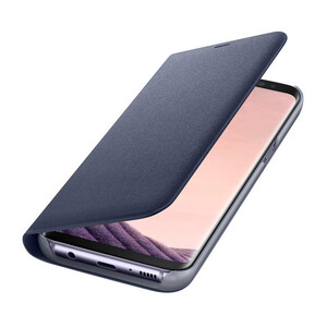 Купить Чехол Samsung LED Wallet Cover Orchid Gray для Samsung Galaxy S8 Plus