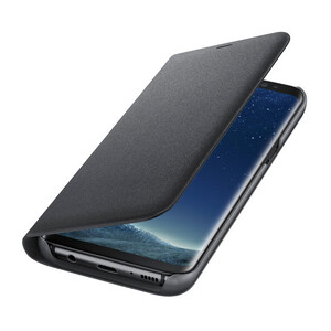 Купить Чехол Samsung LED Wallet Cover Black для Samsung Galaxy S8 Plus