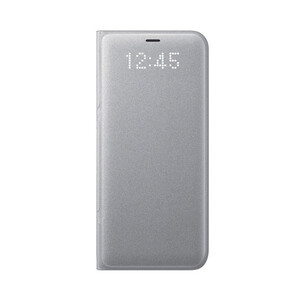Купить Чехол Samsung LED Wallet Cover Silver для Samsung Galaxy S8