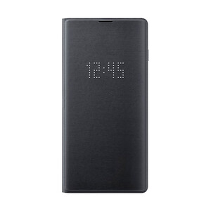 Купить Чехол Samsung LED Wallet Cover Black для Samsung Galaxy S10