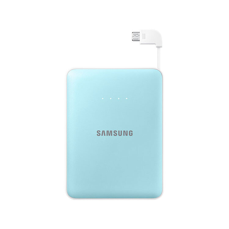 Портативный внешний аккумулятор Samsung Battery Pack 8400mAh Light Blue