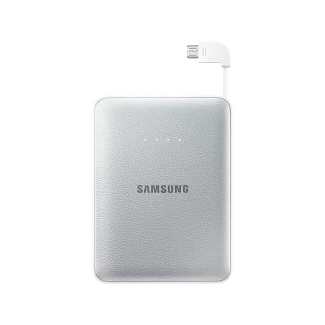 Портативный внешний аккумулятор Samsung Battery Pack 8400mAh Silver