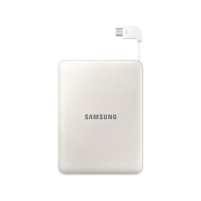 Портативный внешний аккумулятор Samsung Battery Pack 8400mAh White