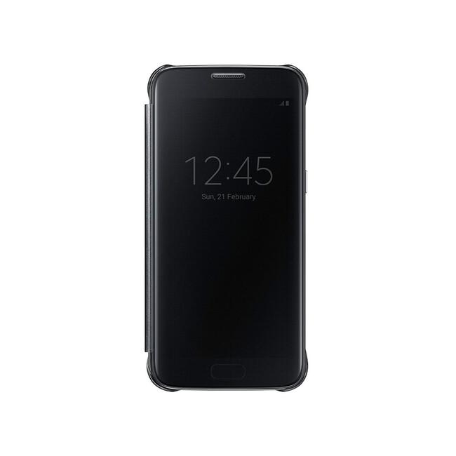 Чехол Samsung S-View Clear Cover Black для Samsung Galaxy S7