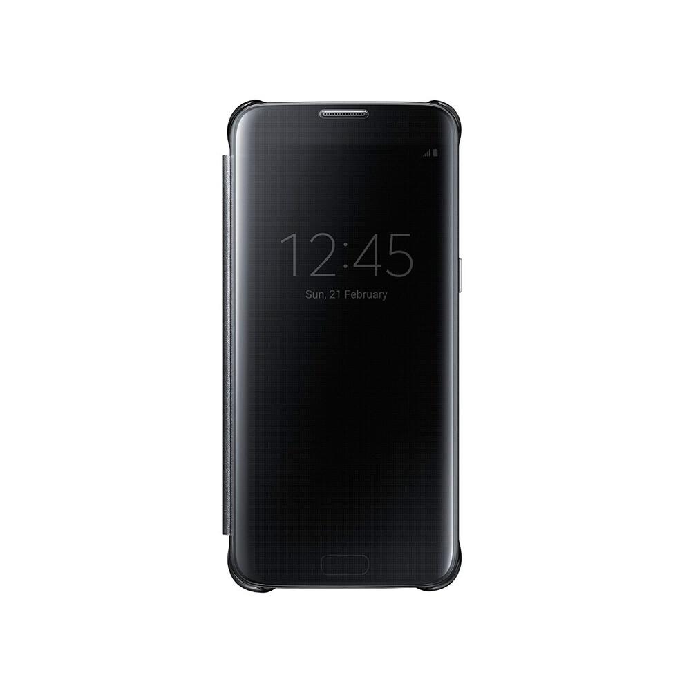 Чехол Samsung S-View Clear Cover Black для Samsung Galaxy S7 edge