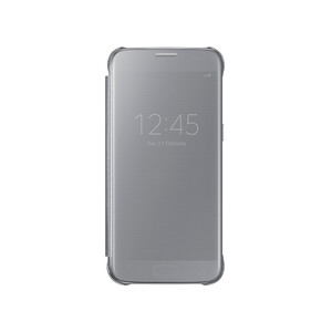 Купить Чехол Samsung S-View Clear Cover Silver для Samsung Galaxy S7