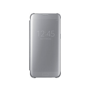 Купить Чехол Samsung S-View Clear Cover Silver для Samsung Galaxy S7 edge