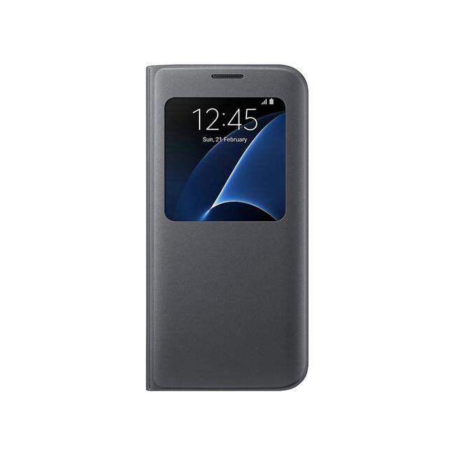 Чехол Samsung S View Cover Black для Samsung Galaxy S7 edge