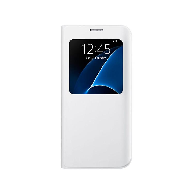 Чехол Samsung S View Cover White для Samsung Galaxy S7 edge