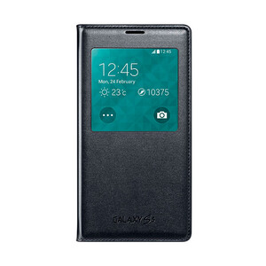Купить Чехол Samsung S-View Flip Cover Black для Samsung Galaxy S5