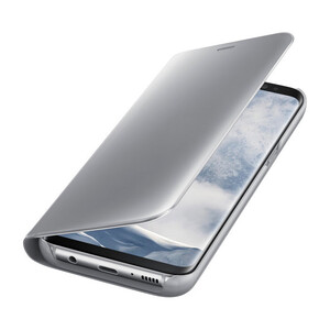 Купить Чехол Samsung S-View Flip Cover Silver для Samsung Galaxy S8 Plus