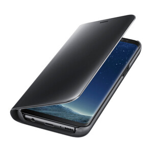 Купить Чехол Samsung S-View Flip Cover Black для Samsung Galaxy S8 Plus