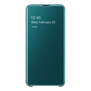 Купить Чехол-книжка Samsung S-View Flip Cover Green для Samsung Galaxy S10e