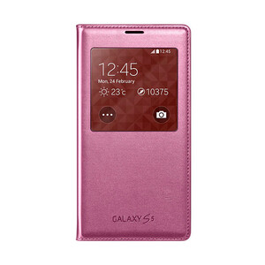 Купить Чехол Samsung S-View Flip Cover Pink для Samsung Galaxy S5