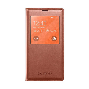 Купить Чехол Samsung S-View Flip Cover Tango Red для Samsung Galaxy S5